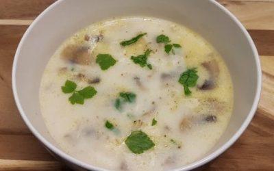 Vejeteryan Mantar Çorbası