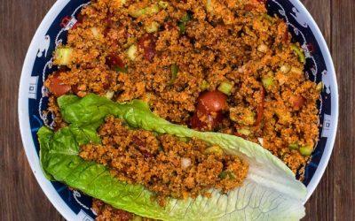 Fine Bulgur Salad
