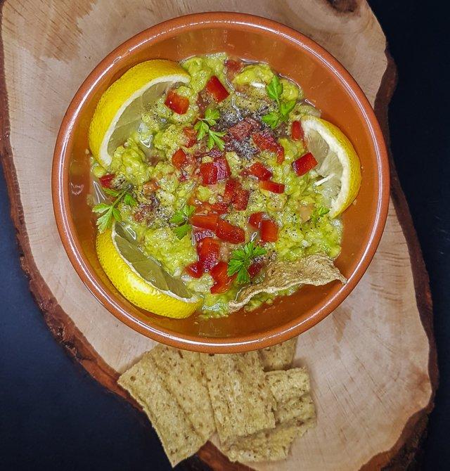 Original recipe of guacamole