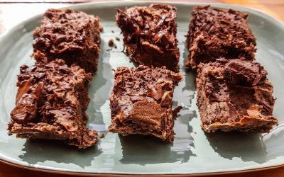 Gluten-Free Vegan Black Bean Brownies