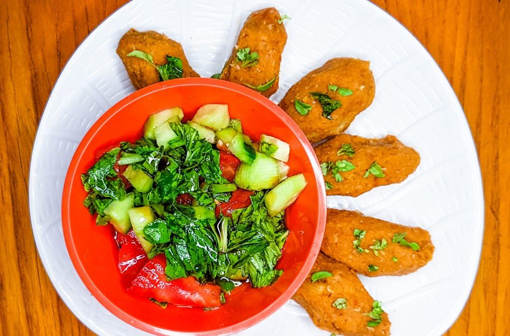 Red lentil patties: packed with iron and perfect for summer