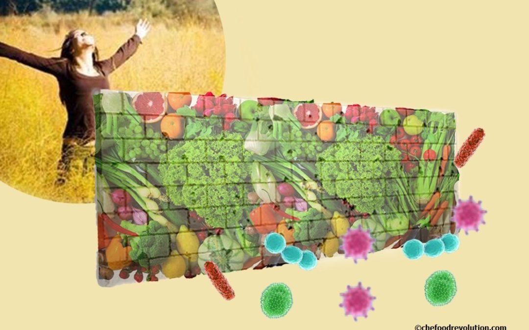 Alimentazione sana: per rafforzare le difese immunitarie