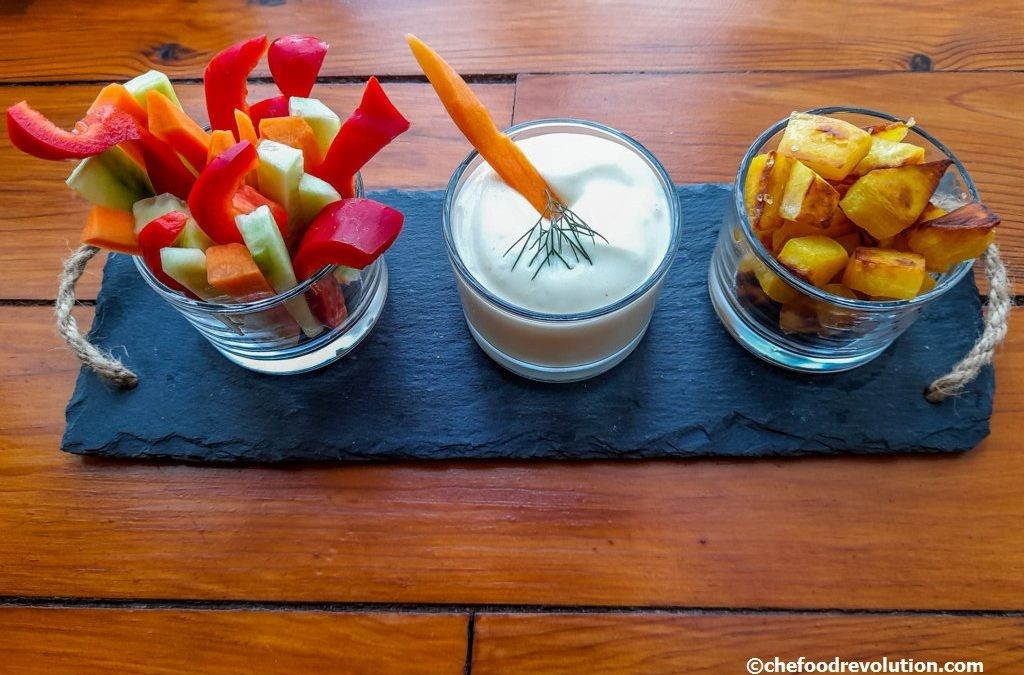 Homemade vegan mayonnaise without eggs: with aquafaba you can!