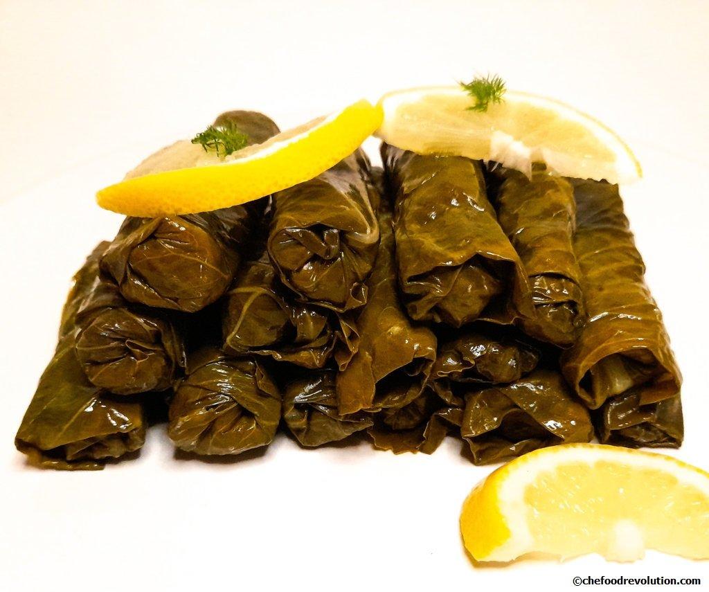 Original Turkish recipe for dolmas