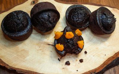 Balkabağı soslu kakaolu vegan muffin: kolay ve çok lezzetli