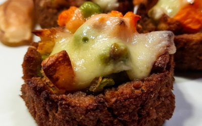 Stuffed soya mince baskets: Cheap, Healthy and Ethical recipe