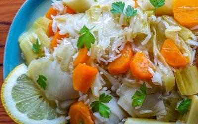 Contorno di porri e carote agli agrumi: veloce, sano e delizioso