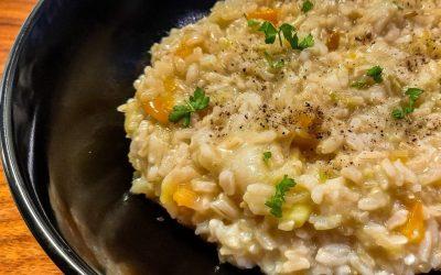 Düdüklü tencerede risotto nasıl yapılır, üstelik esmer pirinç ile