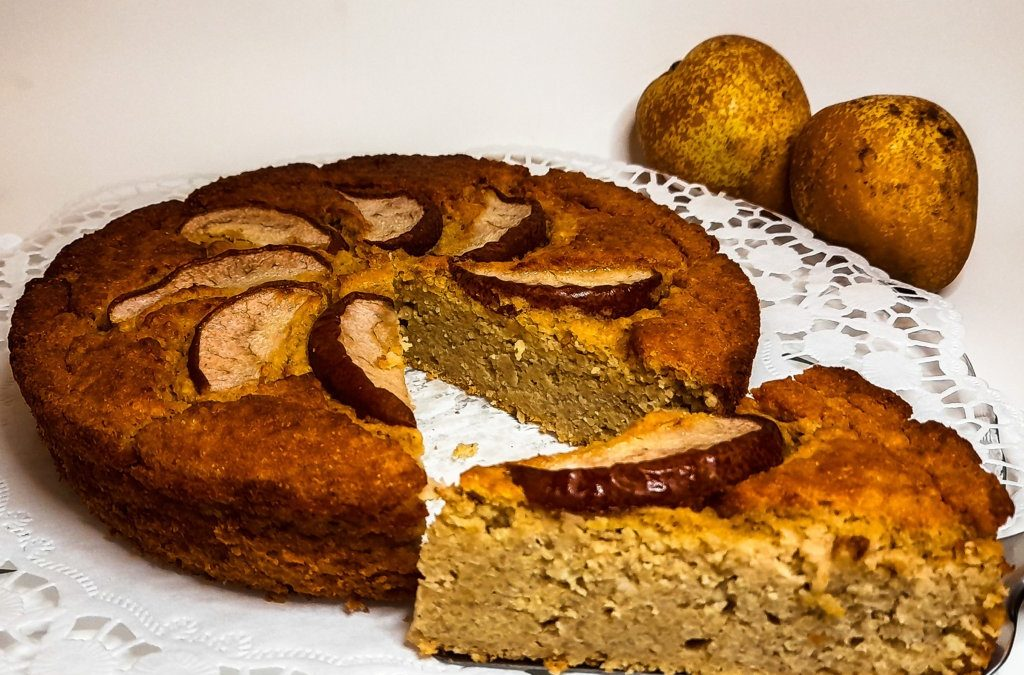 Lemon Millet cake: gluten-free, protein rich and low IG