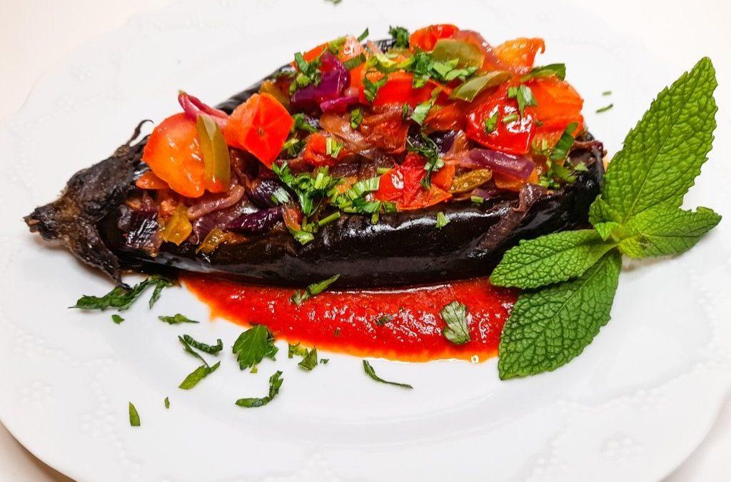 Recipe of Turkish stuffed eggplants, Imam Bayildi: Natural Born Vegan