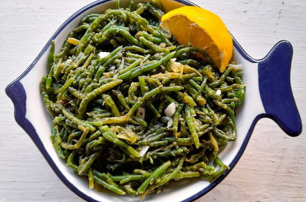 Sea beans or Samphire or Salicornia: pros, cons, preparation and storing