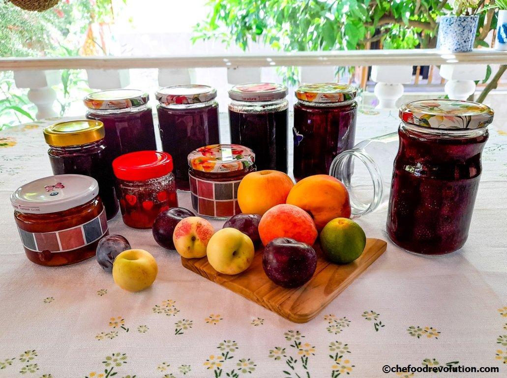 conservazione frutta tipo confetture e marmellate